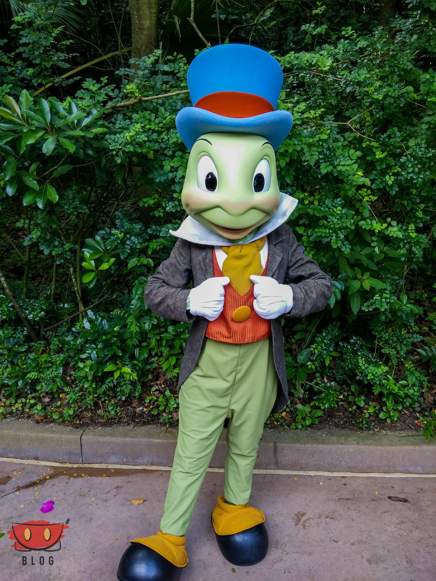 Jiminy Cricket to meet at Rafikis Planet Watch April 17 23 Blog