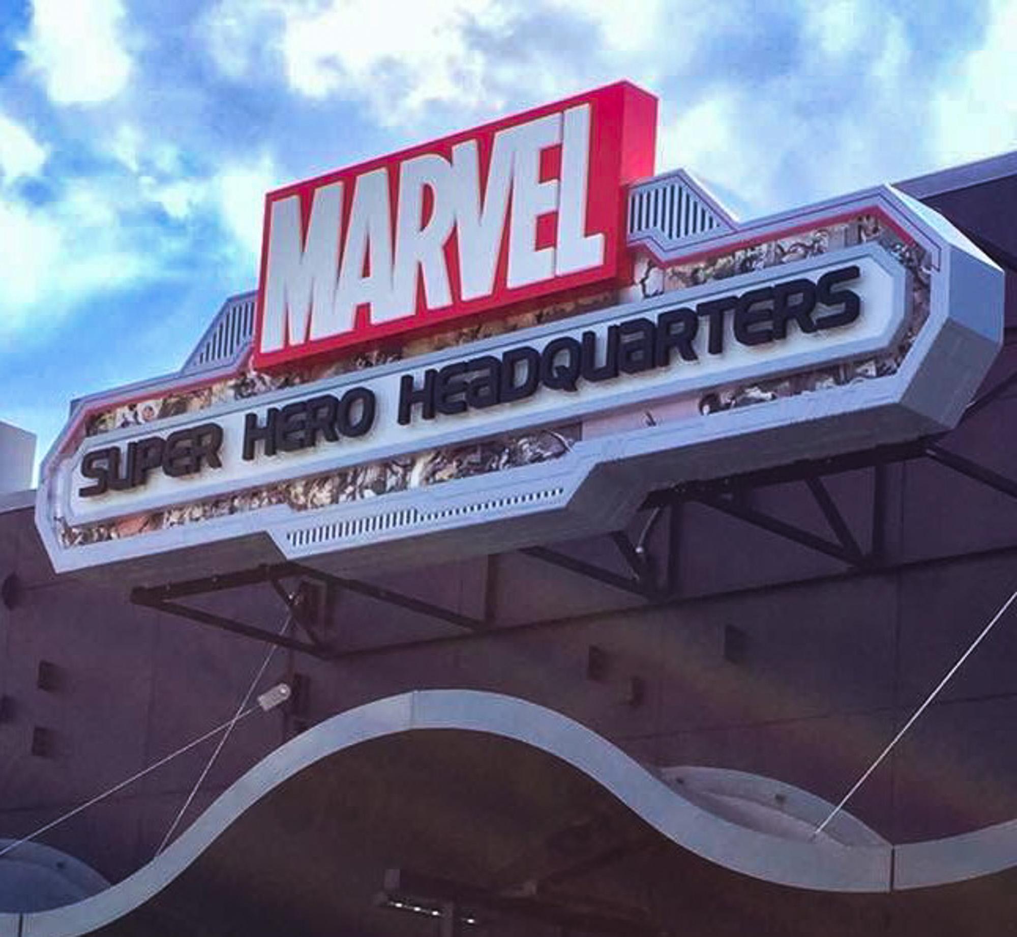 Marvel Branding Comes To Disney Springs