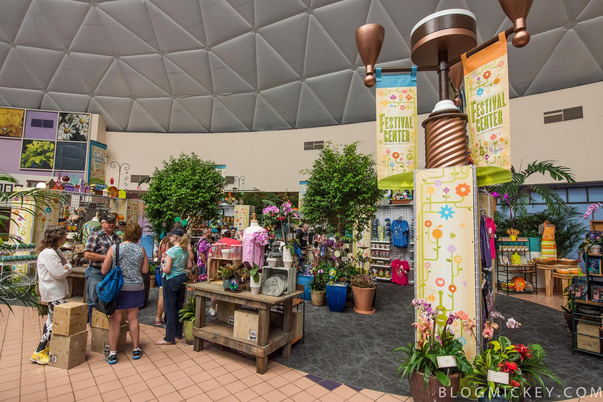 Photos Take A Look Around The 2017 Epcot Flower And Garden Festival Center The Wonders Of