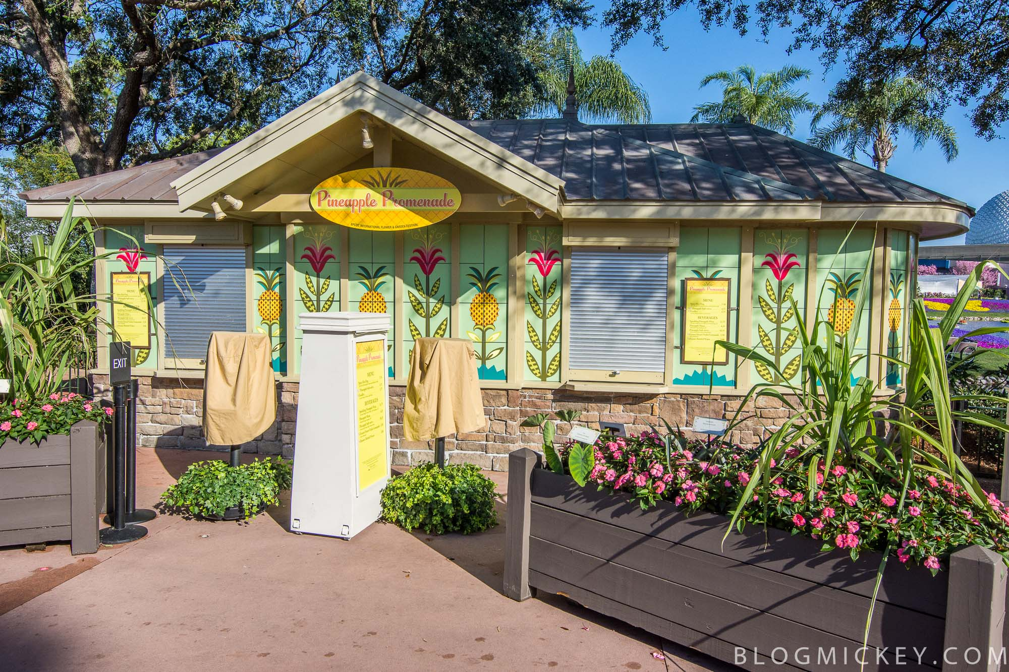 2017 Epcot Flower and Garden Festival Outdoor Kitchens menus and