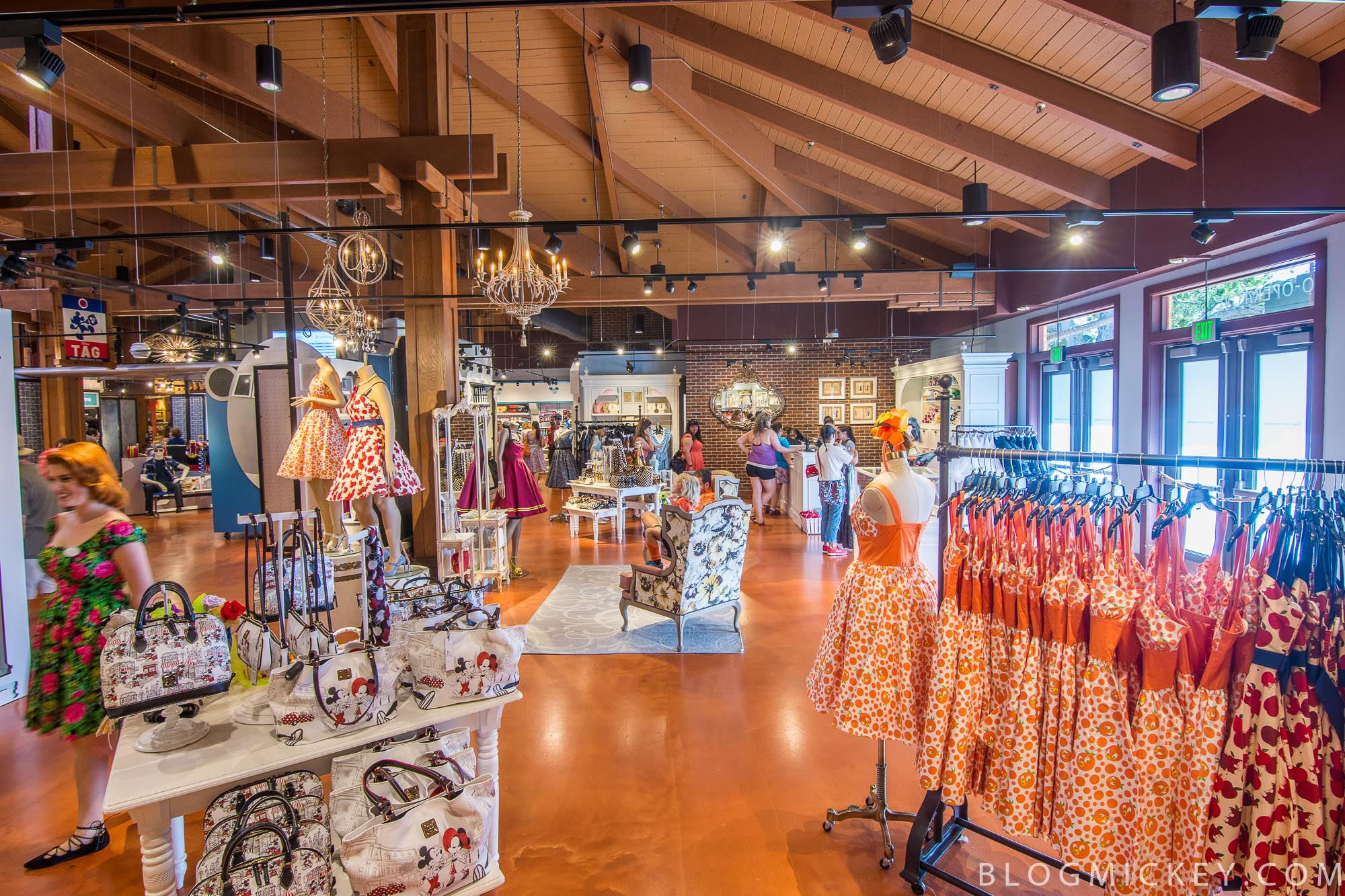 34ccb528b9992 PHOTOS - The Dress Shop opens in the Marketplace Co-Op at Disney ...
