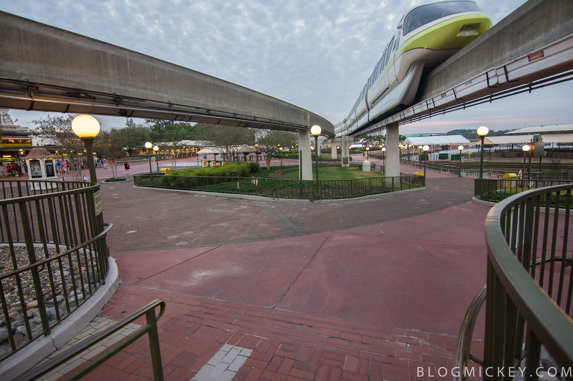 photos magic kingdom security checkpoints move to the