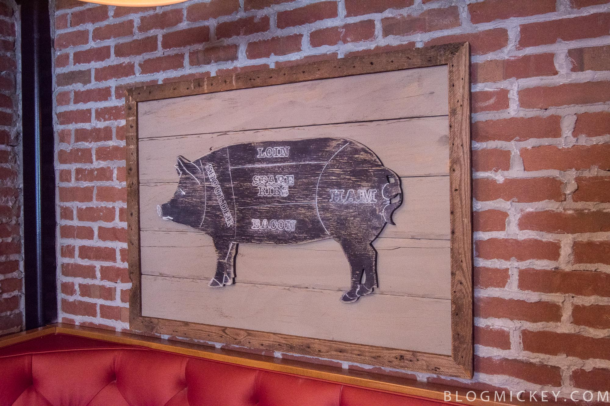 Photos the polite pig opens at disney springs blog mickey Pig kitchen decor