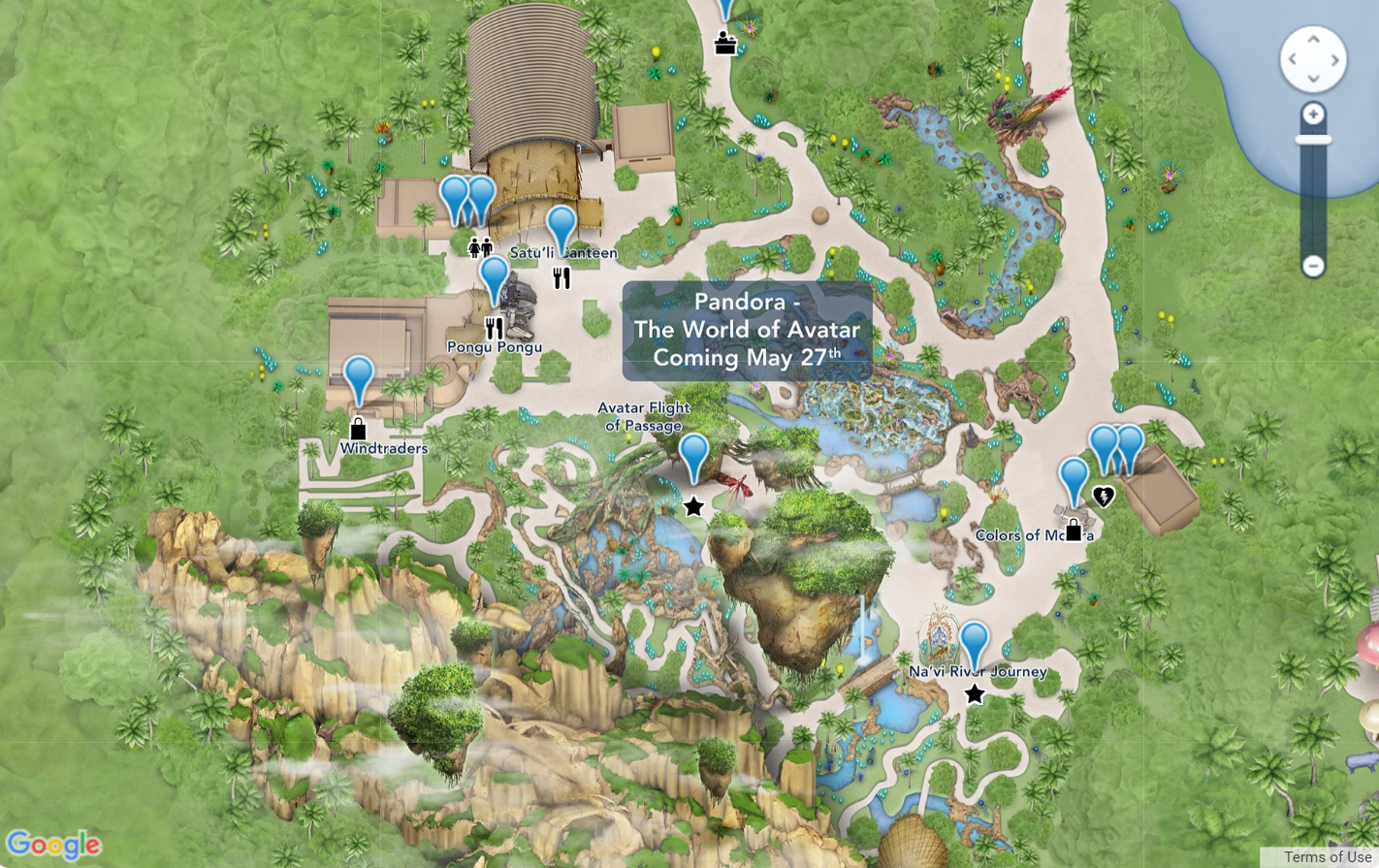 Pandora - The World of Avatar interactive map now available on My ...