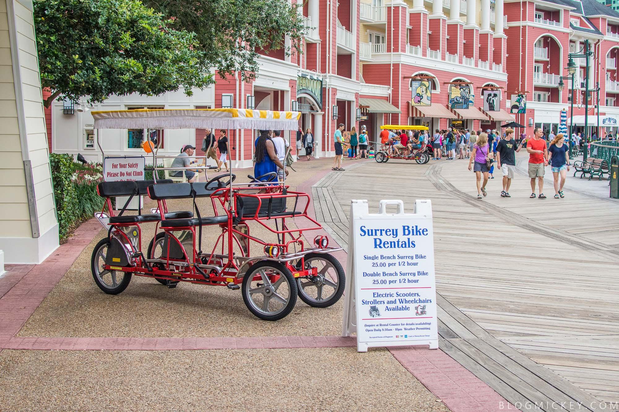 Review Boardwalk Surrey Bike Rental Blog Mickey