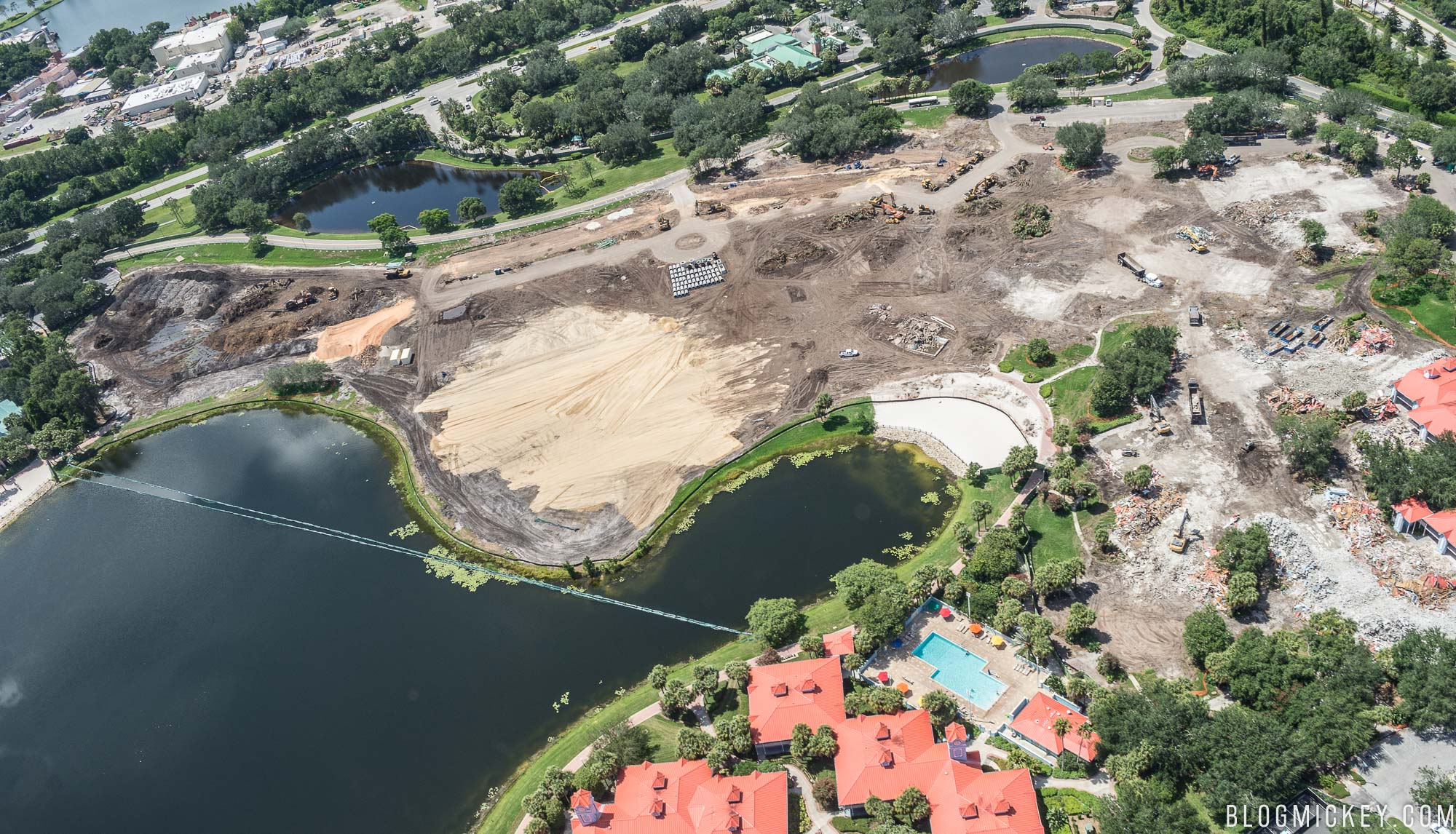 PHOTOS Disneys Caribbean Beach Resort Expansion Construction Update June 2017