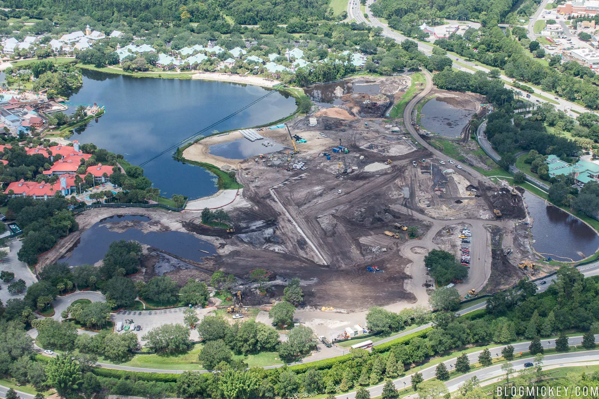 Photos Disney Riviera Resort Construction Update July