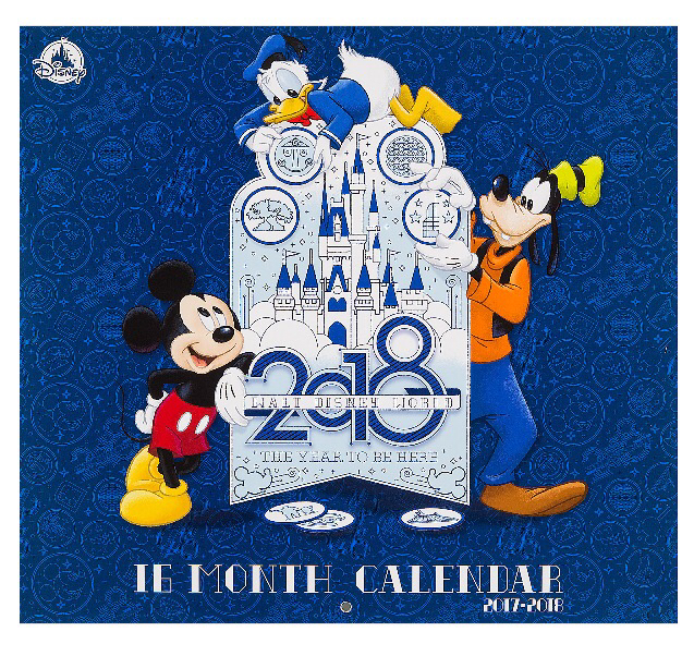 2018 Disney Calendars Now Available Blog Mickey