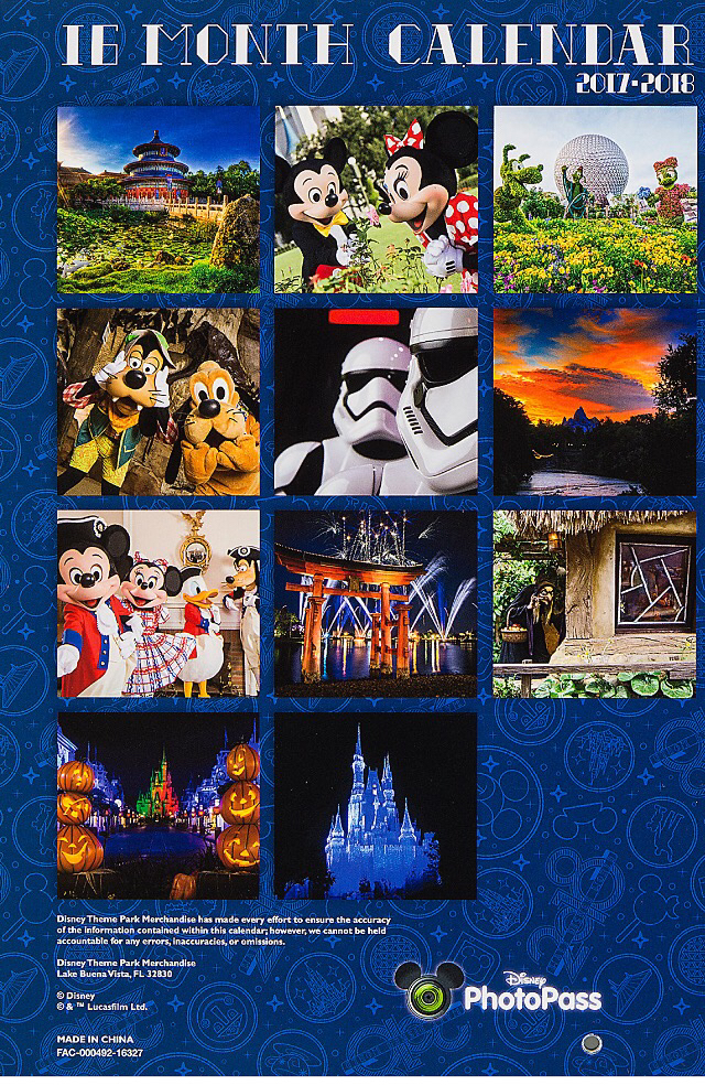 2018 Disney Calendars Now Available   Blog Mickey