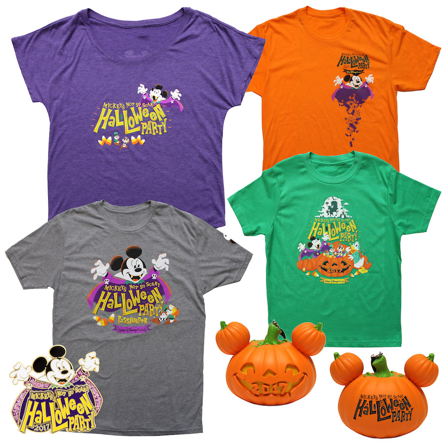 the best locations to find these items during mickeys not so scary halloween party will be at the emporium on main street usa and big top souvenirs in - Scary Halloween Shirts