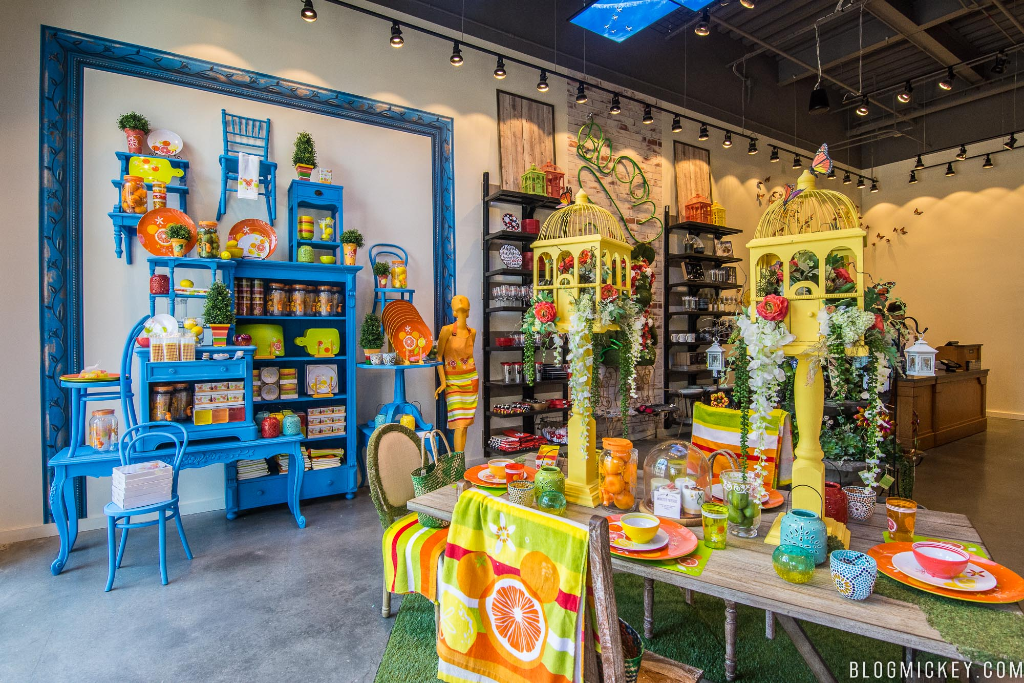 Previously a Beauty and the Beast themed store  D Living keeps it fresh by  changing the theme roughly every quarter  Let s take a look. PHOTOS  D Living Celebrates Summer at Disney Springs   Blog Mickey