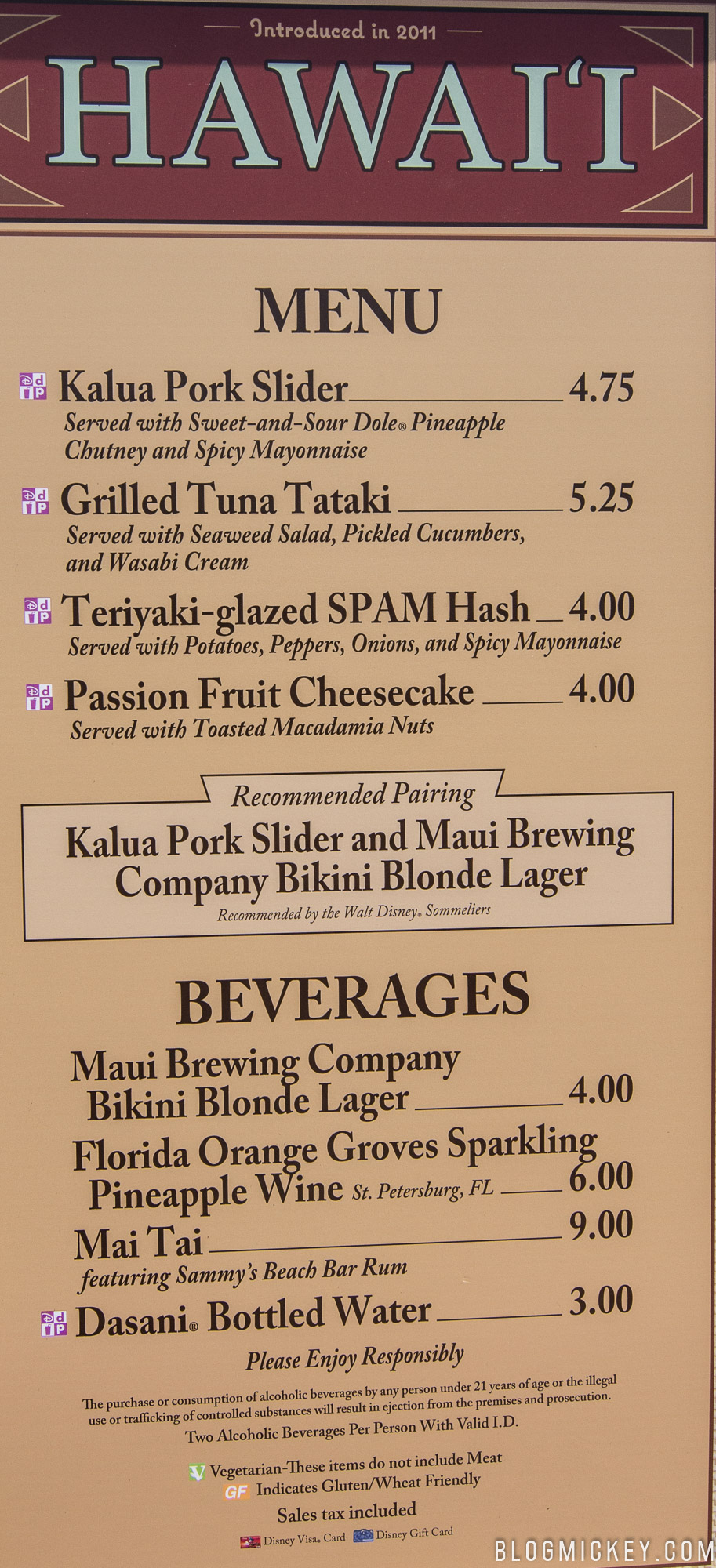 2017 Epcot International Food and Wine Festival Booths, Menus, and ...