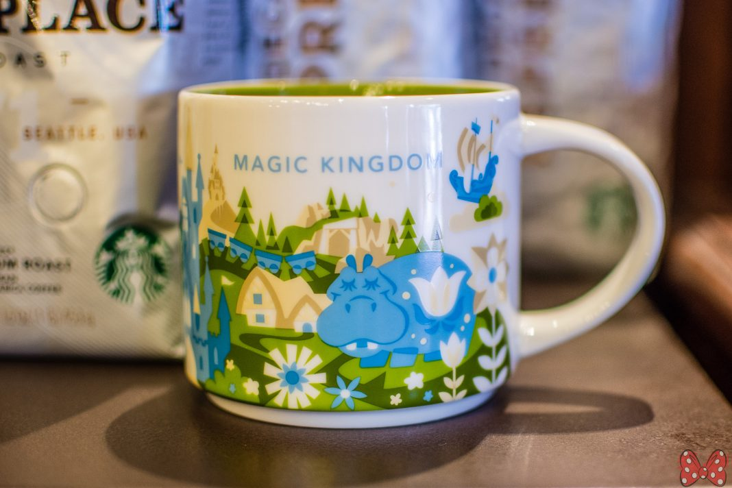 New Magic Kingdom Starbucks Quot You Are Here Quot Mug Released