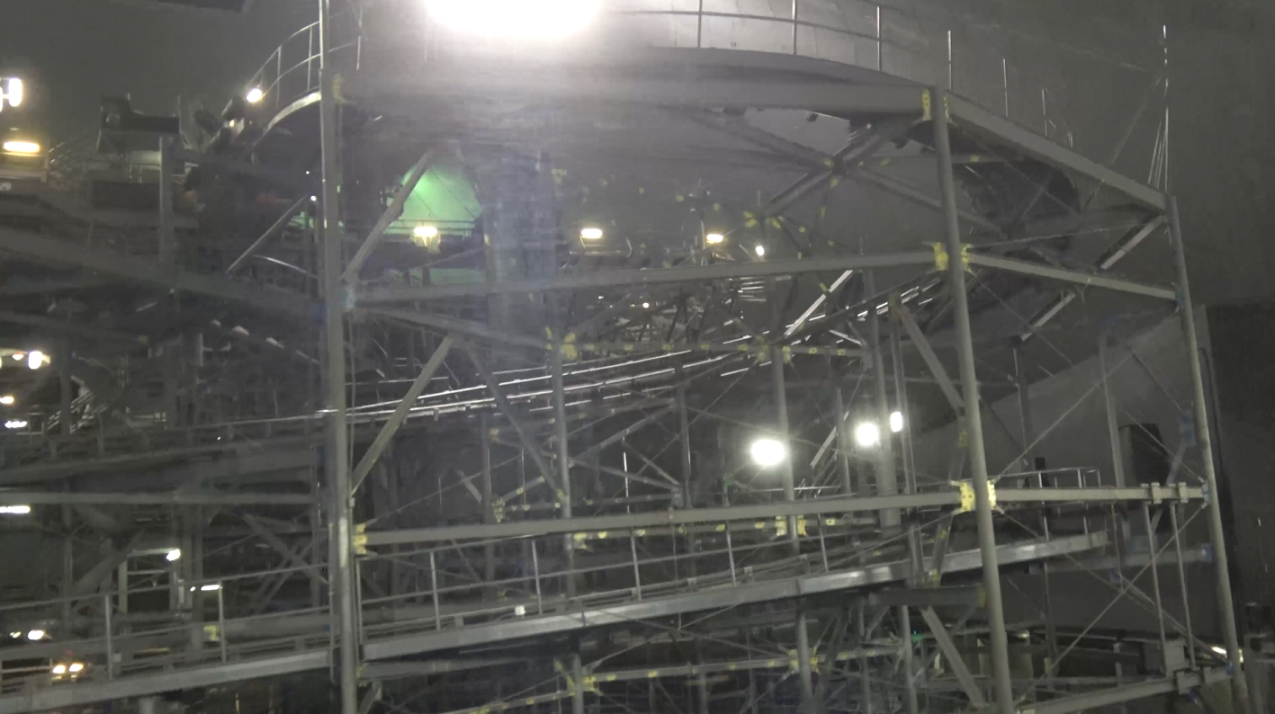 VIDEO: Space Mountain With The Lights On From PeopleMover ...