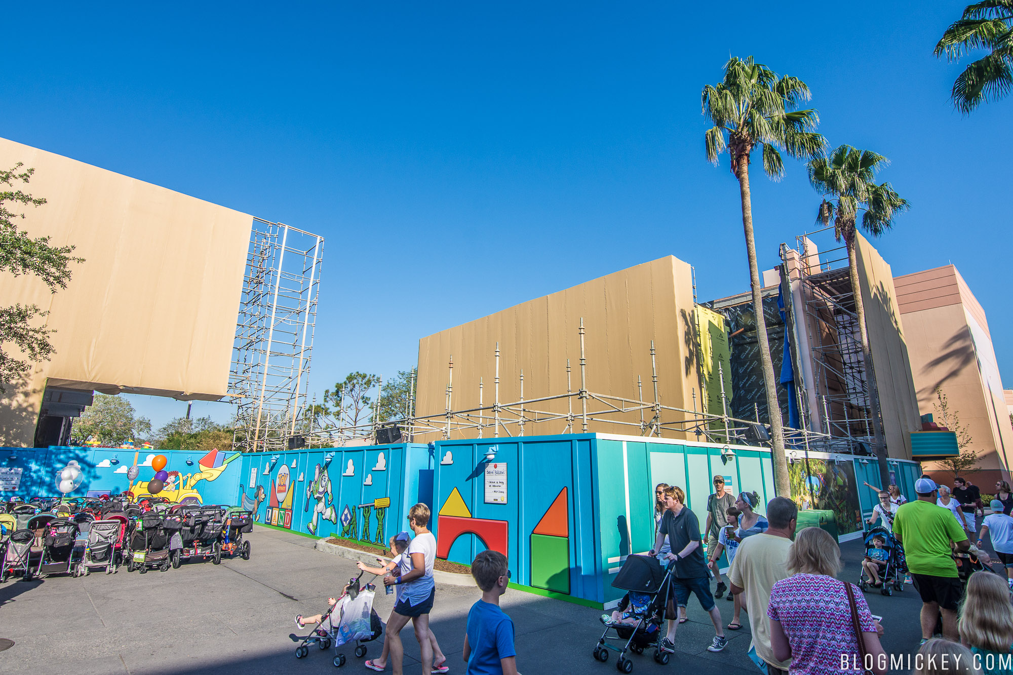 Universal Scaffolding Pittsburgh : Toy story land page inside universal forums