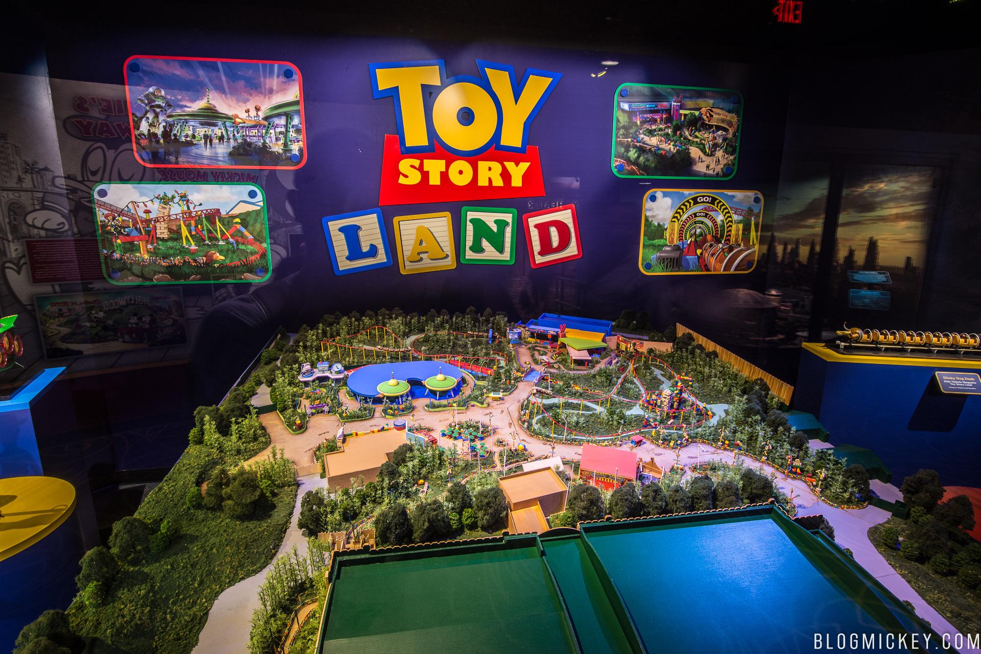 Photos Toy Story Land Model Debuts At Walt Disney Presents Blog