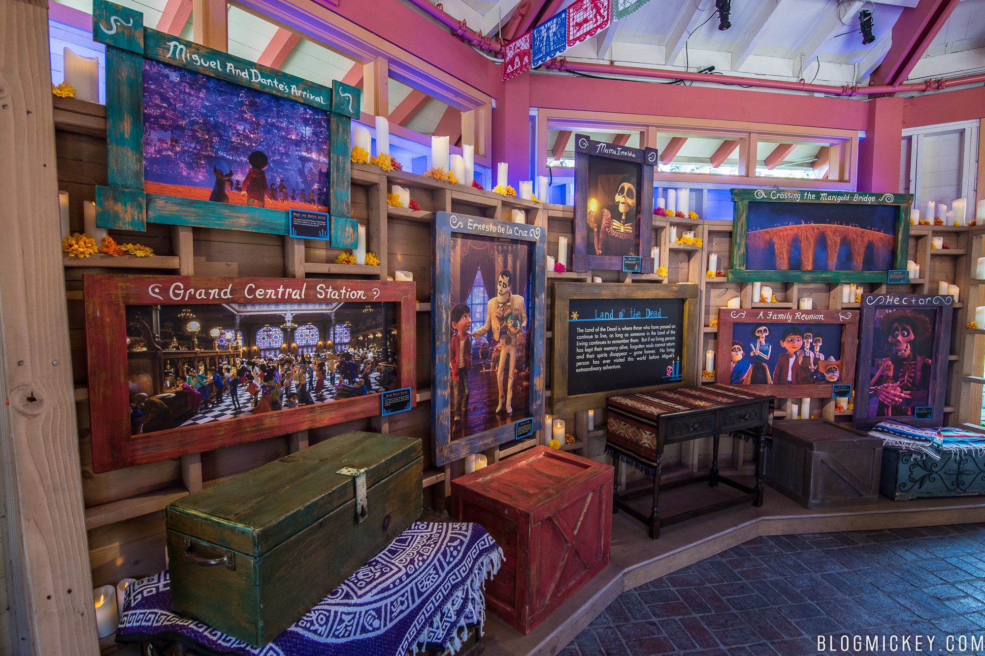 Photos Coco Exhibit At Disney California Adventure Blog