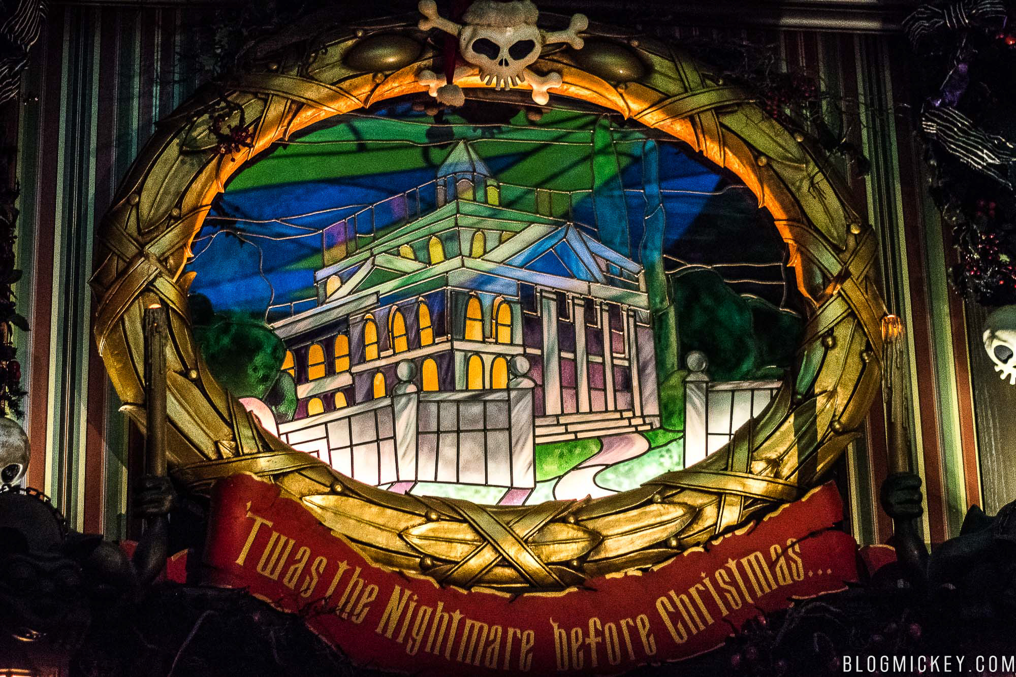 PHOTOS, VIDEO: Haunted Mansion Holiday Full Ride Through ...