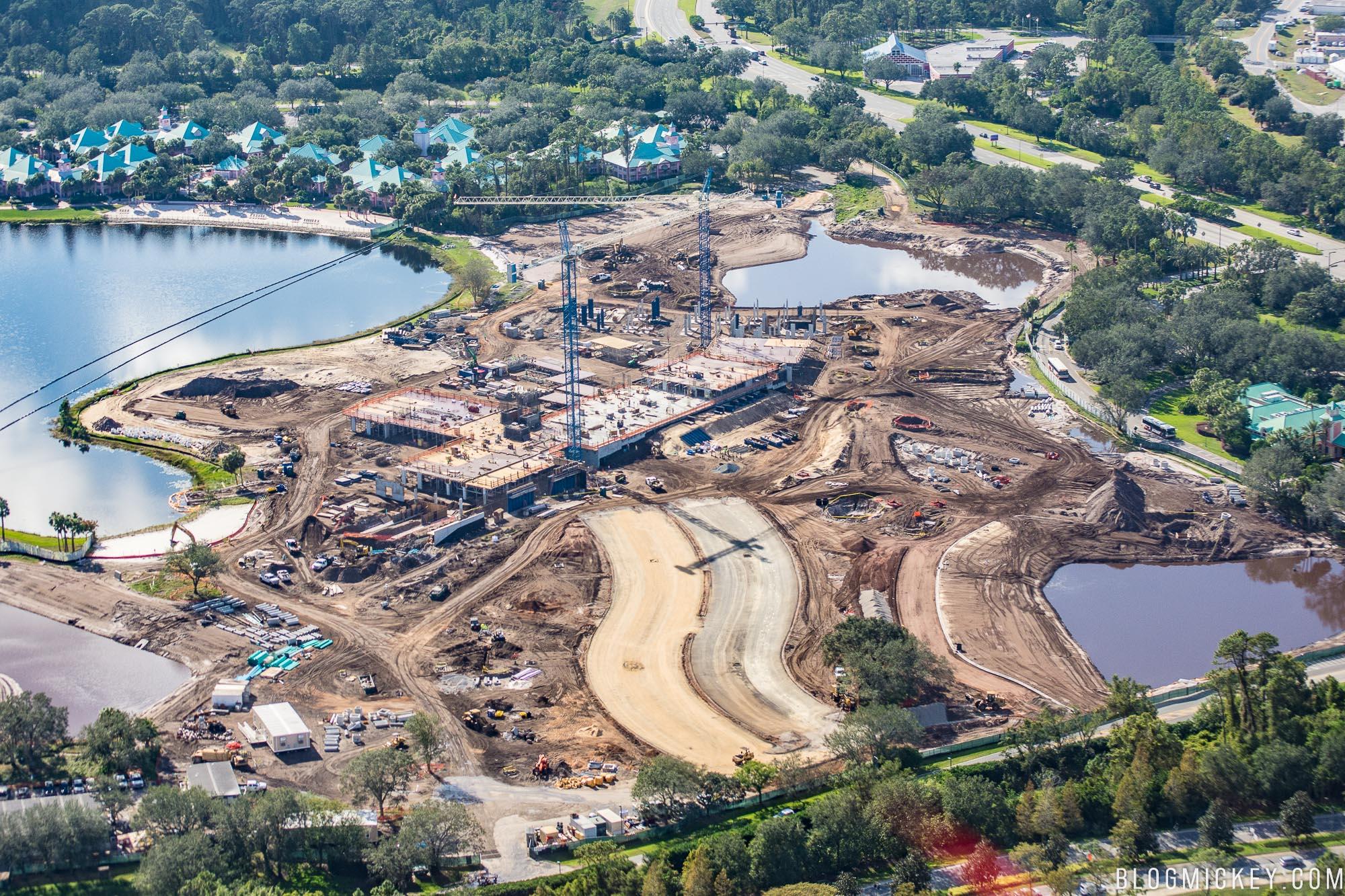 377ba51a1 PHOTOS  Disney Riviera Resort Construction Goes Vertical - Blog Mickey