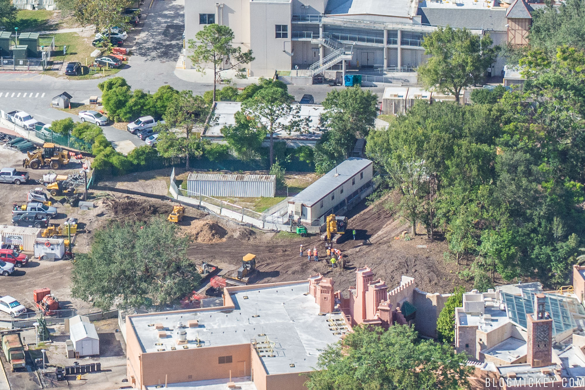 PHOTOS: Land Cleared for Ratatouille Attraction and France