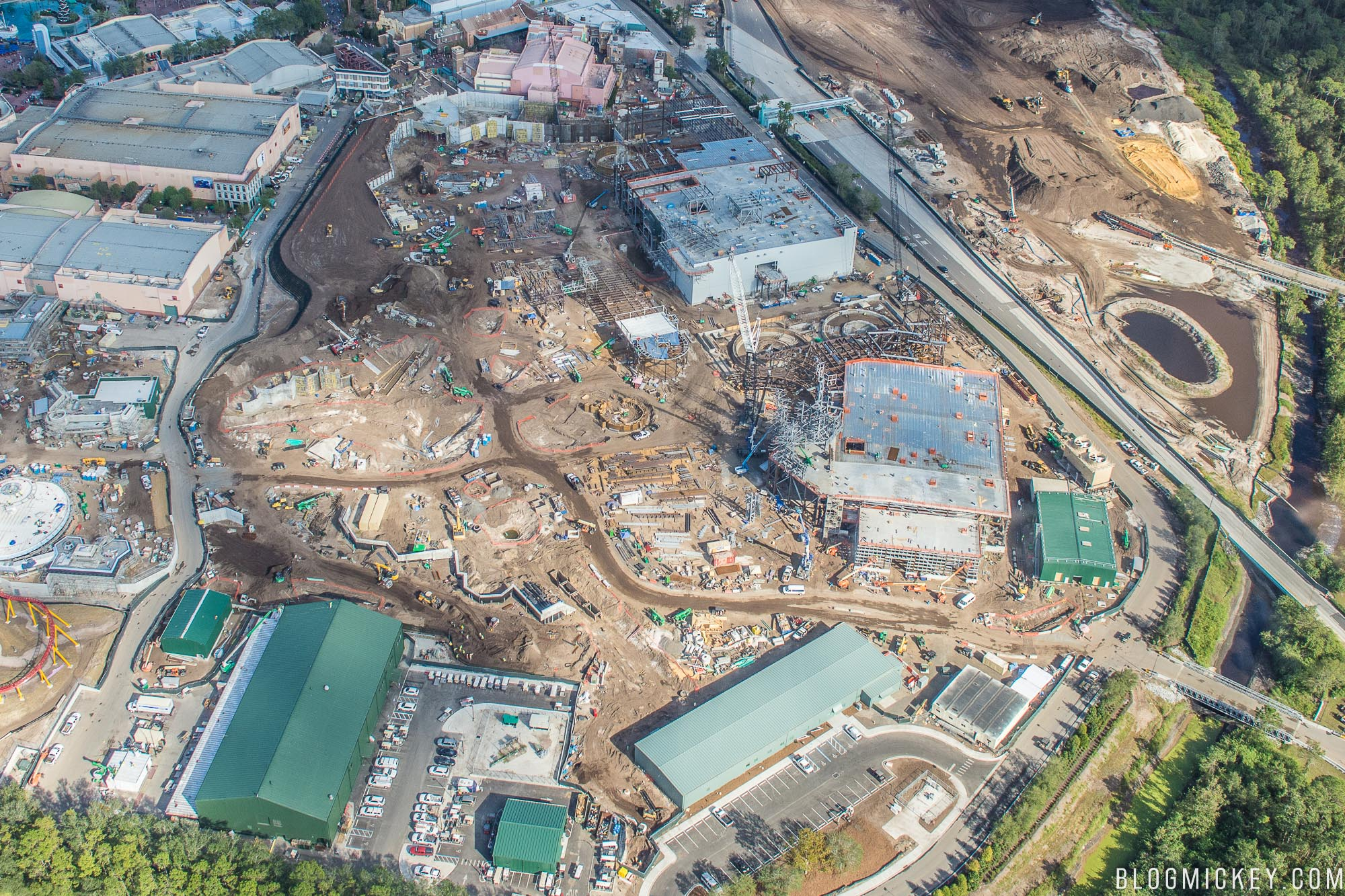 Star Wars at Disney, Construction Updates