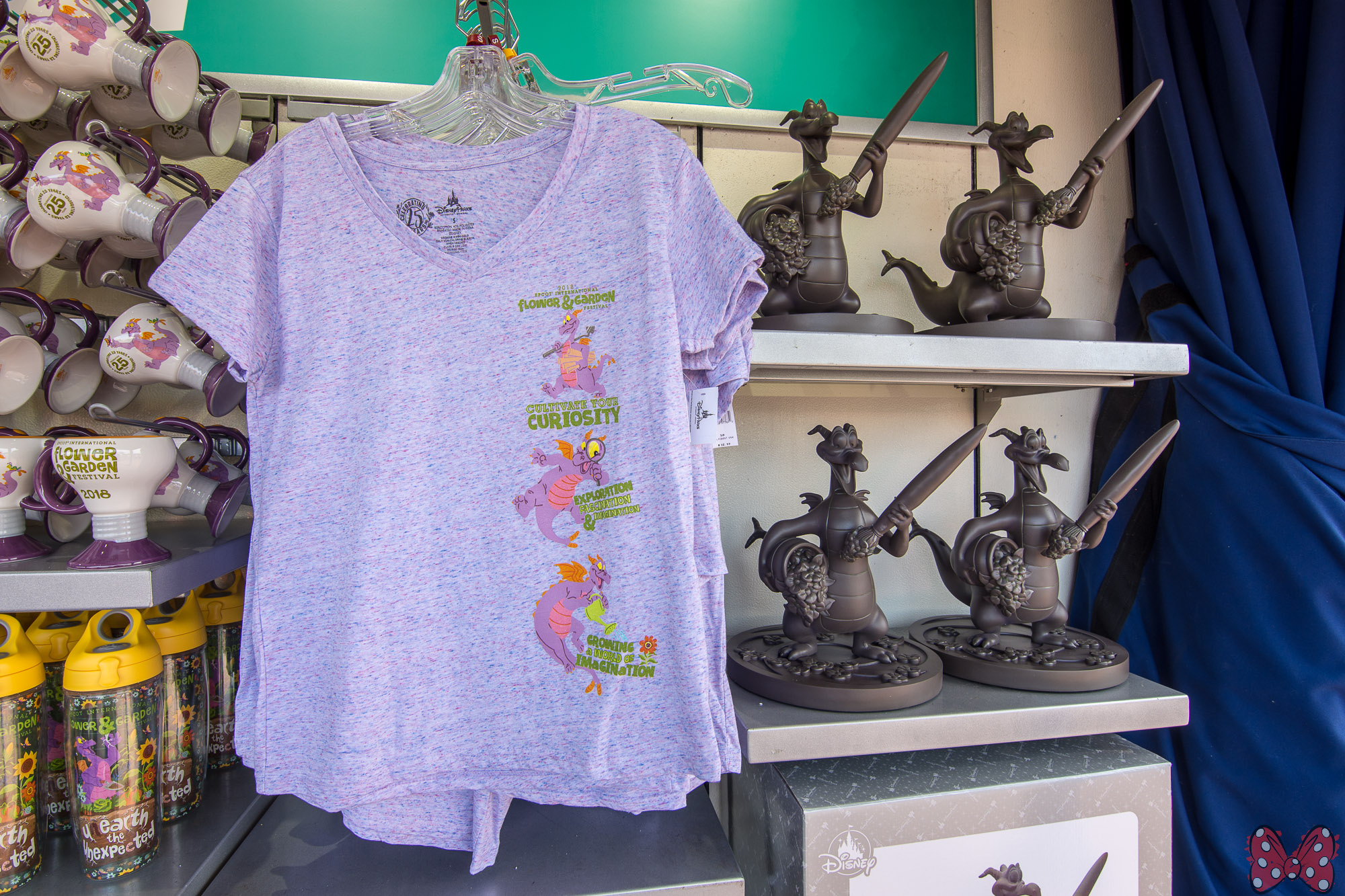 photos: 2018 epcot flower and garden festival merchandise - blog mickey