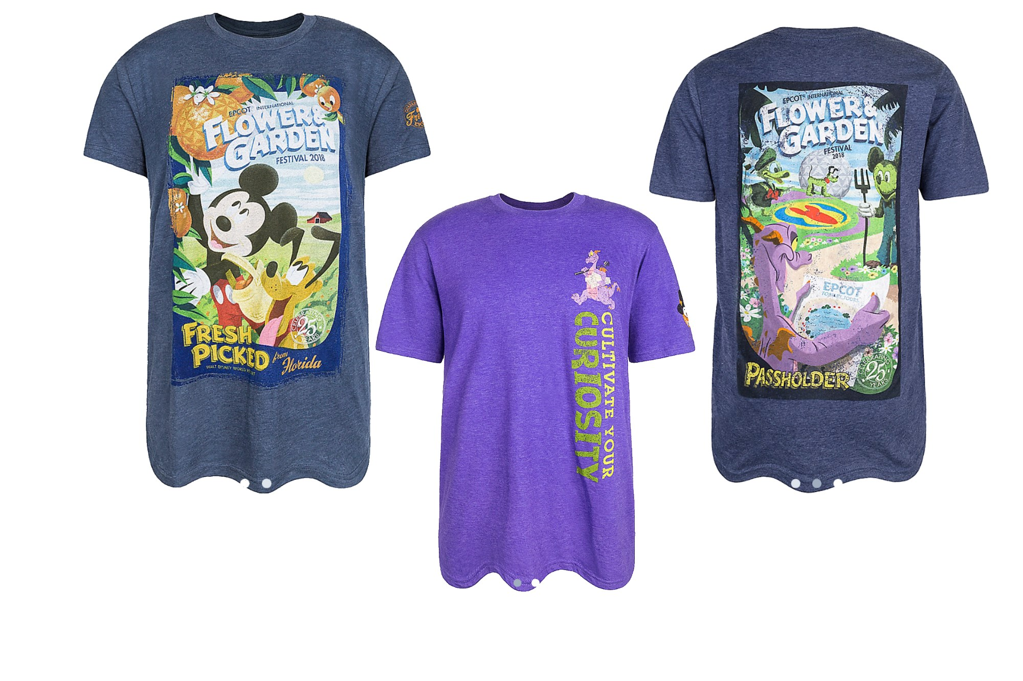 2018 flower and garden shirts available on shop disney parks app