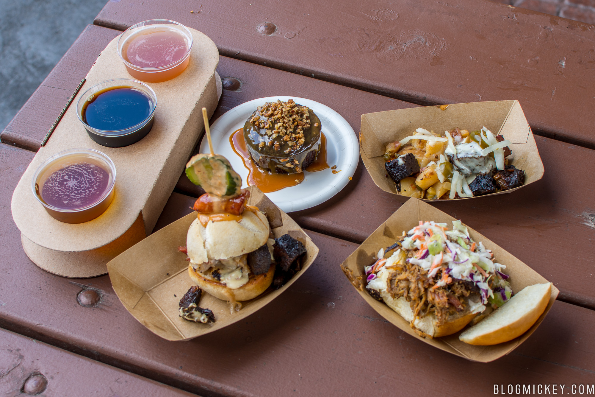 review: the smokehouse - 2018 epcot flower and garden festival
