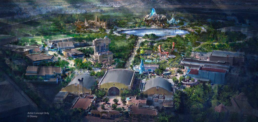Walt Disney Studios Park expansion project concept art