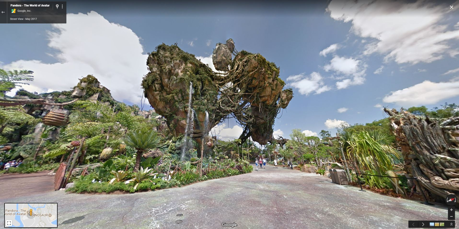 Google Street View for Pandora - The World of Avatar