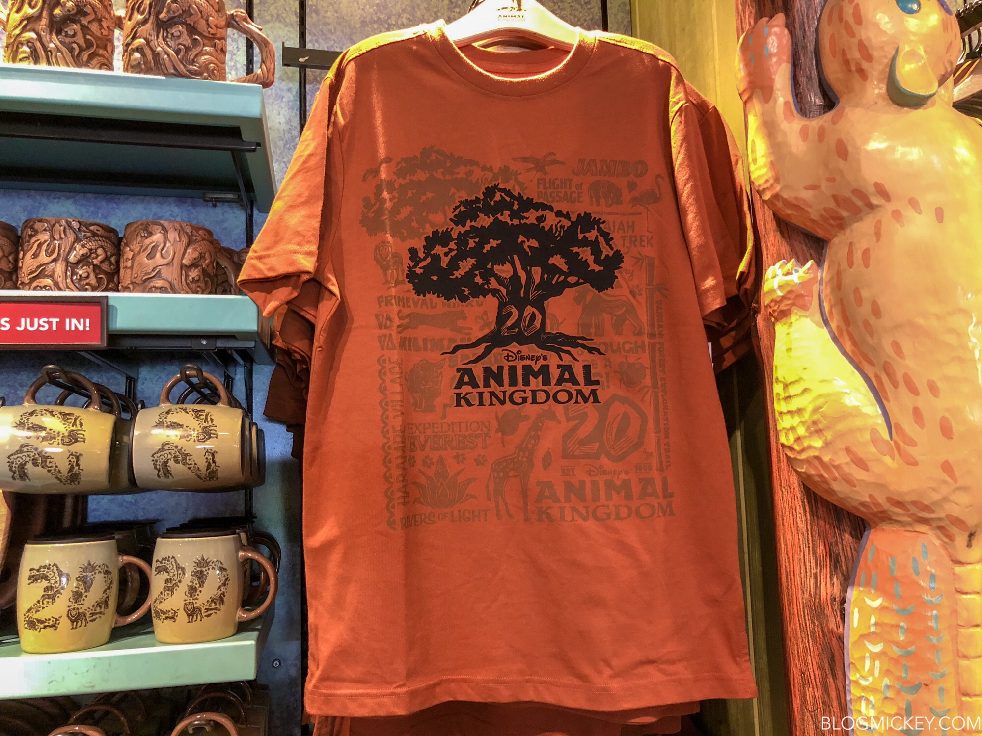 Animal Kingdom 20th Anniversary Merchandise