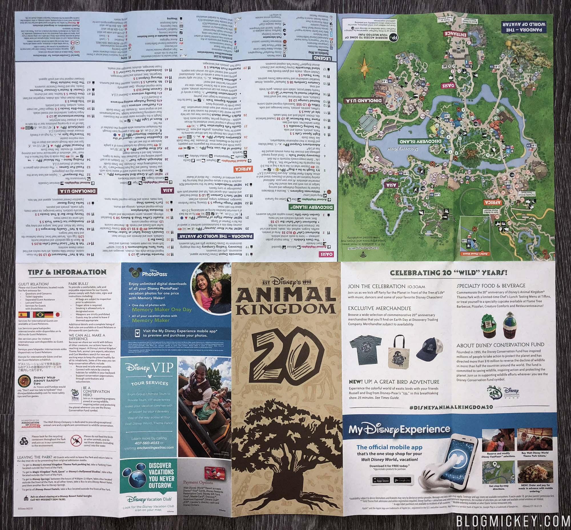 disneys-animal-kingdom-20th-anniversary-park-map-04222018-3 ...