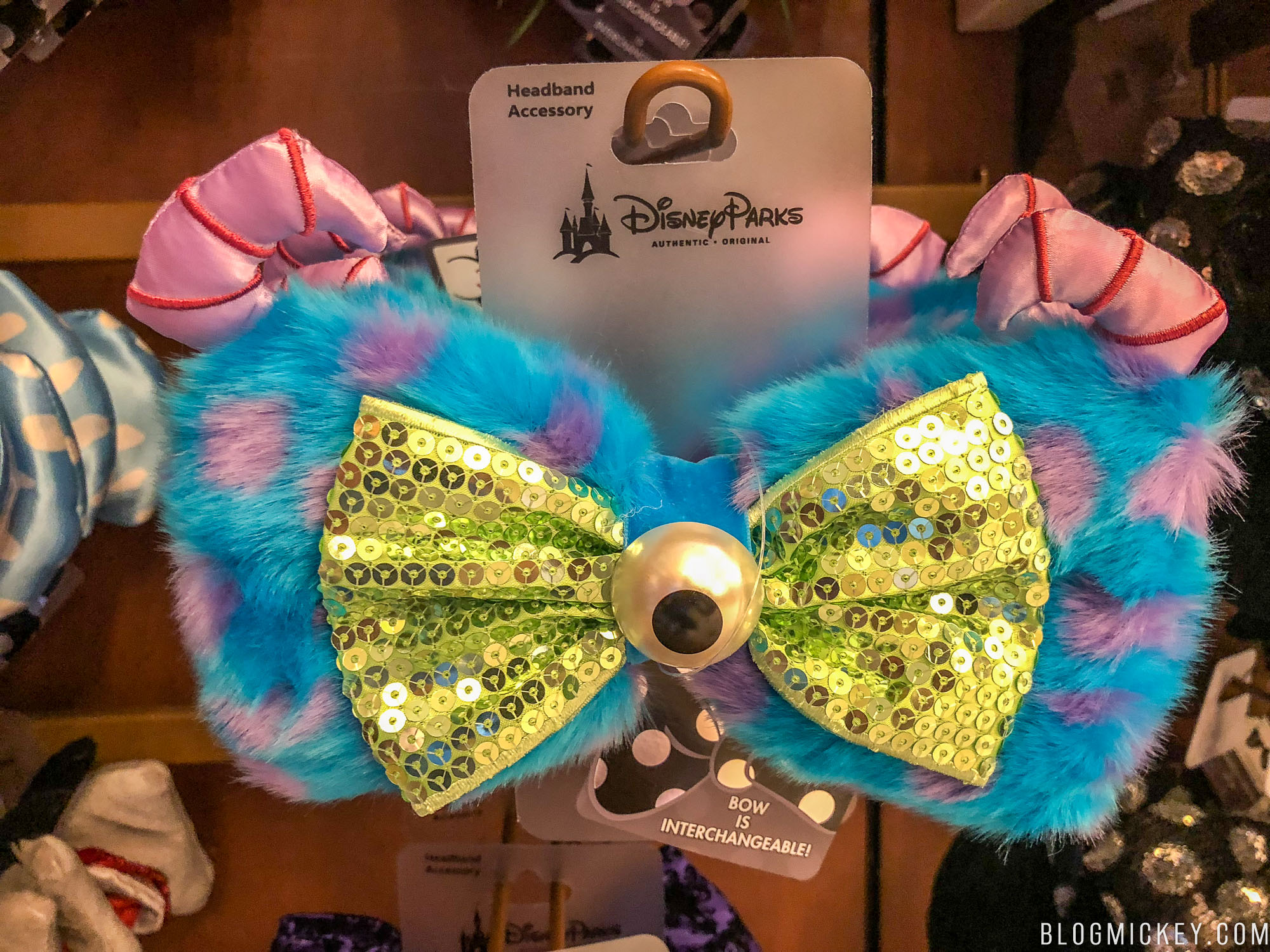 New Pixar Inspired Interchangeable Bows On Sale At Walt