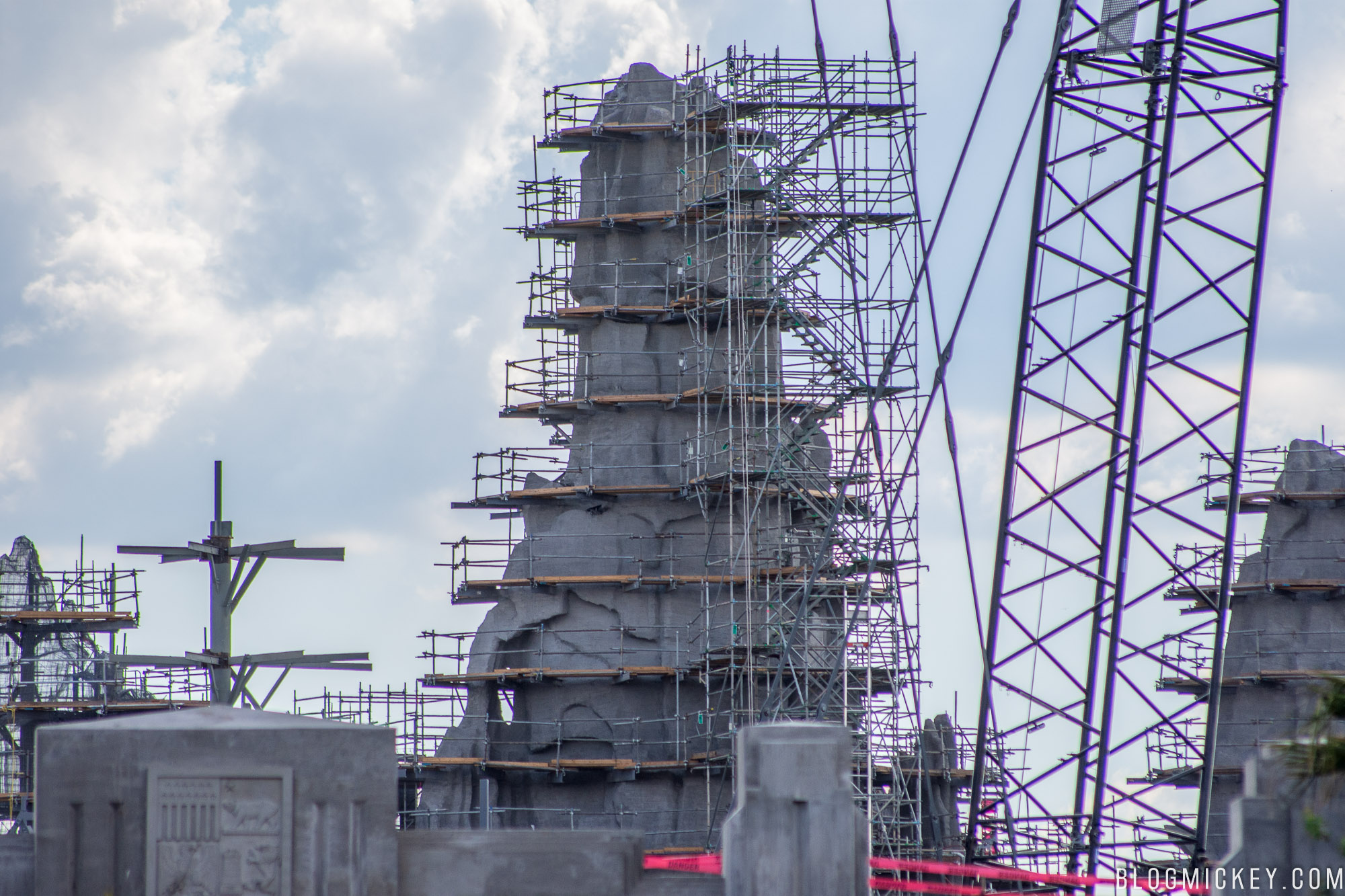 PHOTOS: April Construction Update for Star Wars: Galaxy's ...