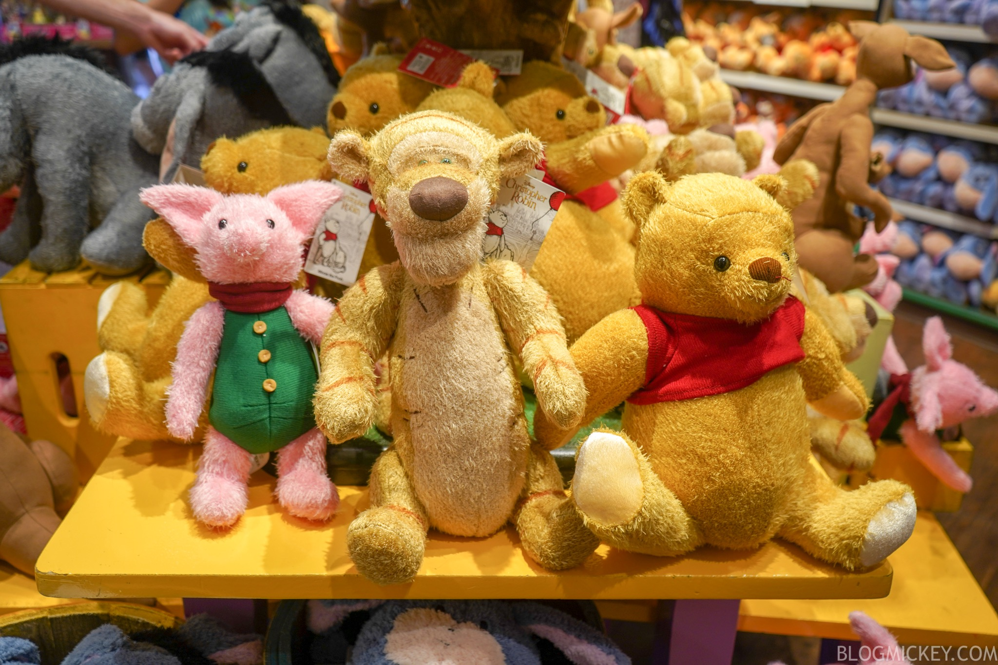 new quotchristopher robinquot plush released in magic kingdom