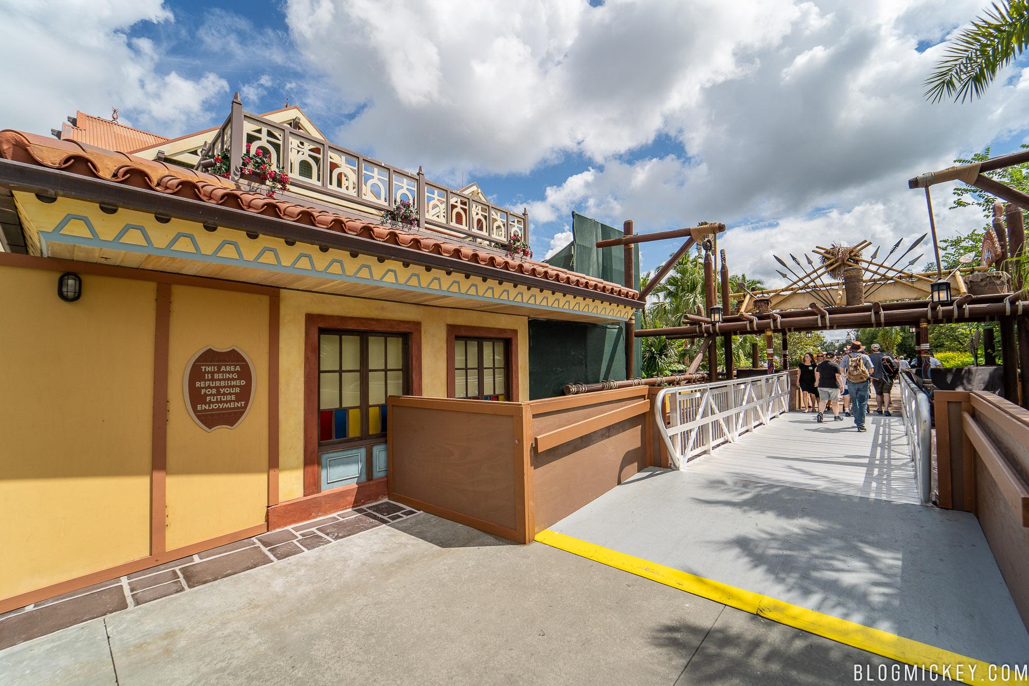 Photos Latest Progress On Club 33 And Adventureland