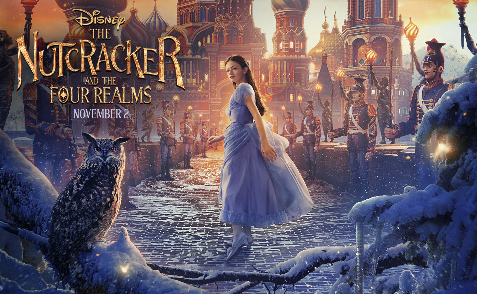 Image result for the nutcracker and the four realms movie poster uk