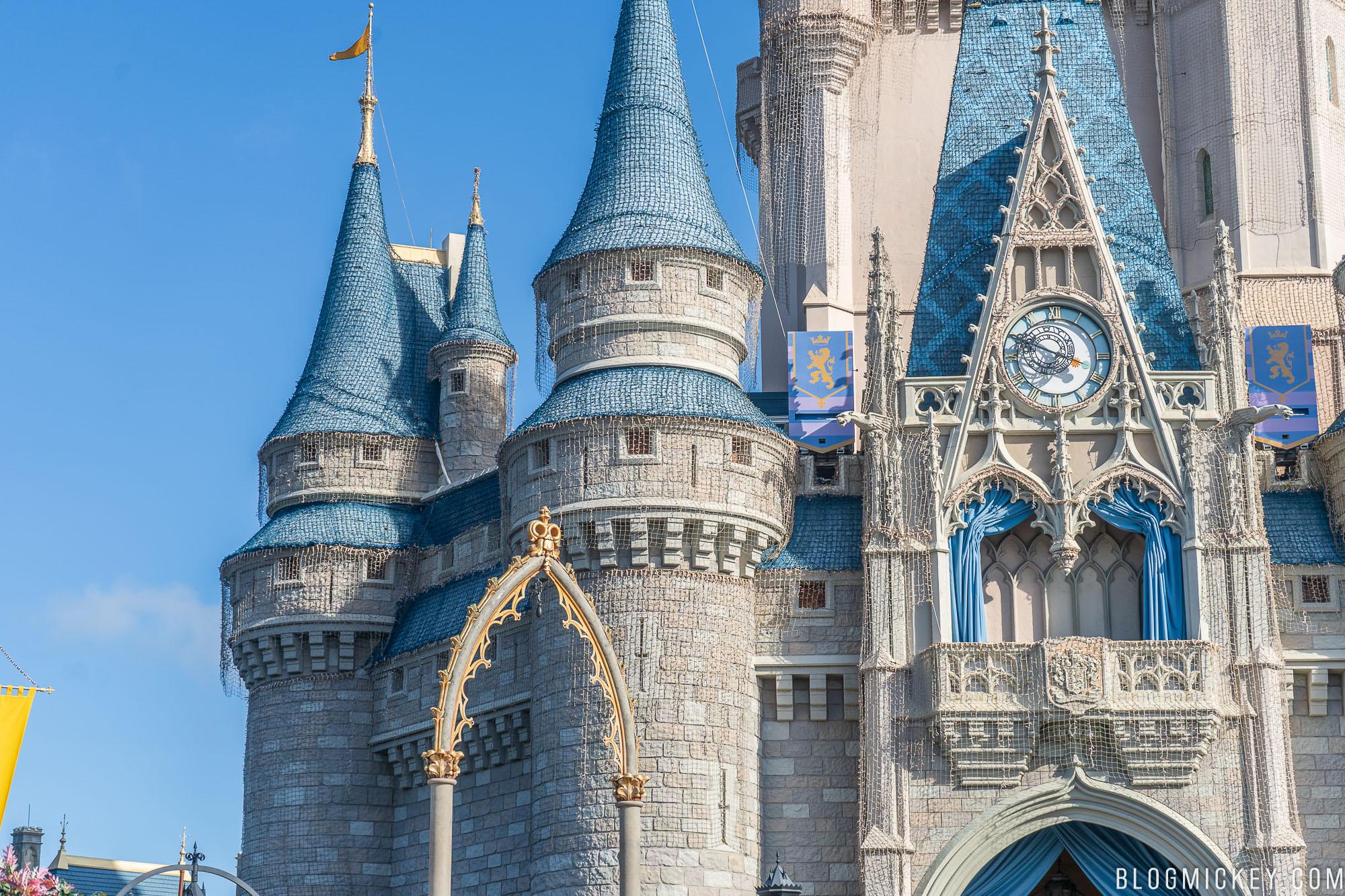 Cinderella Castle Christmas.Photos Cinderella Castle Christmas Dream Lights