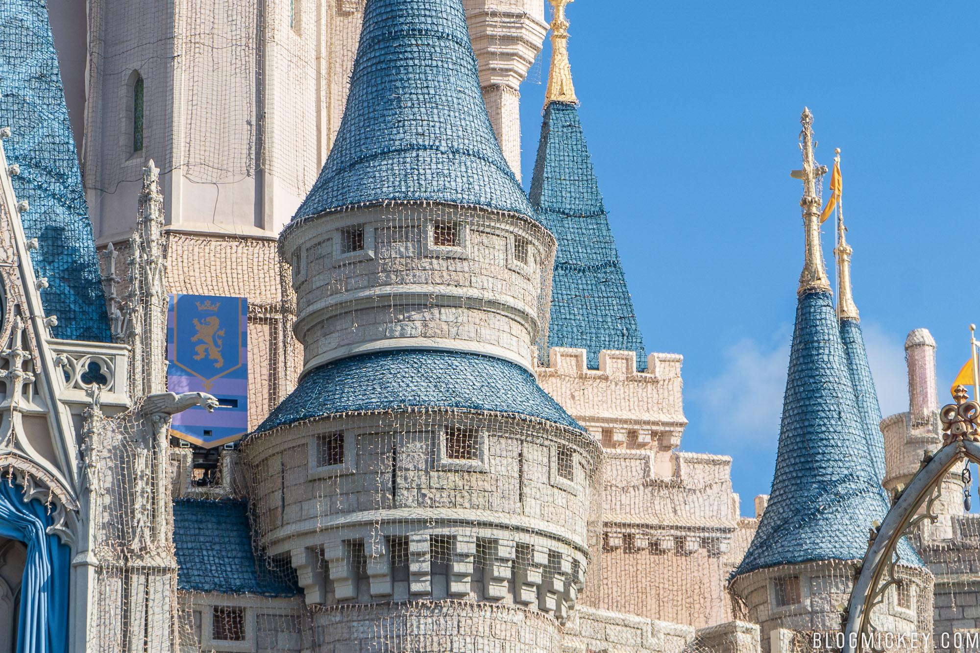 Cinderella Castle Christmas Lights.Cinderella Castle Christmas Lights Dreamlights 10172018 5