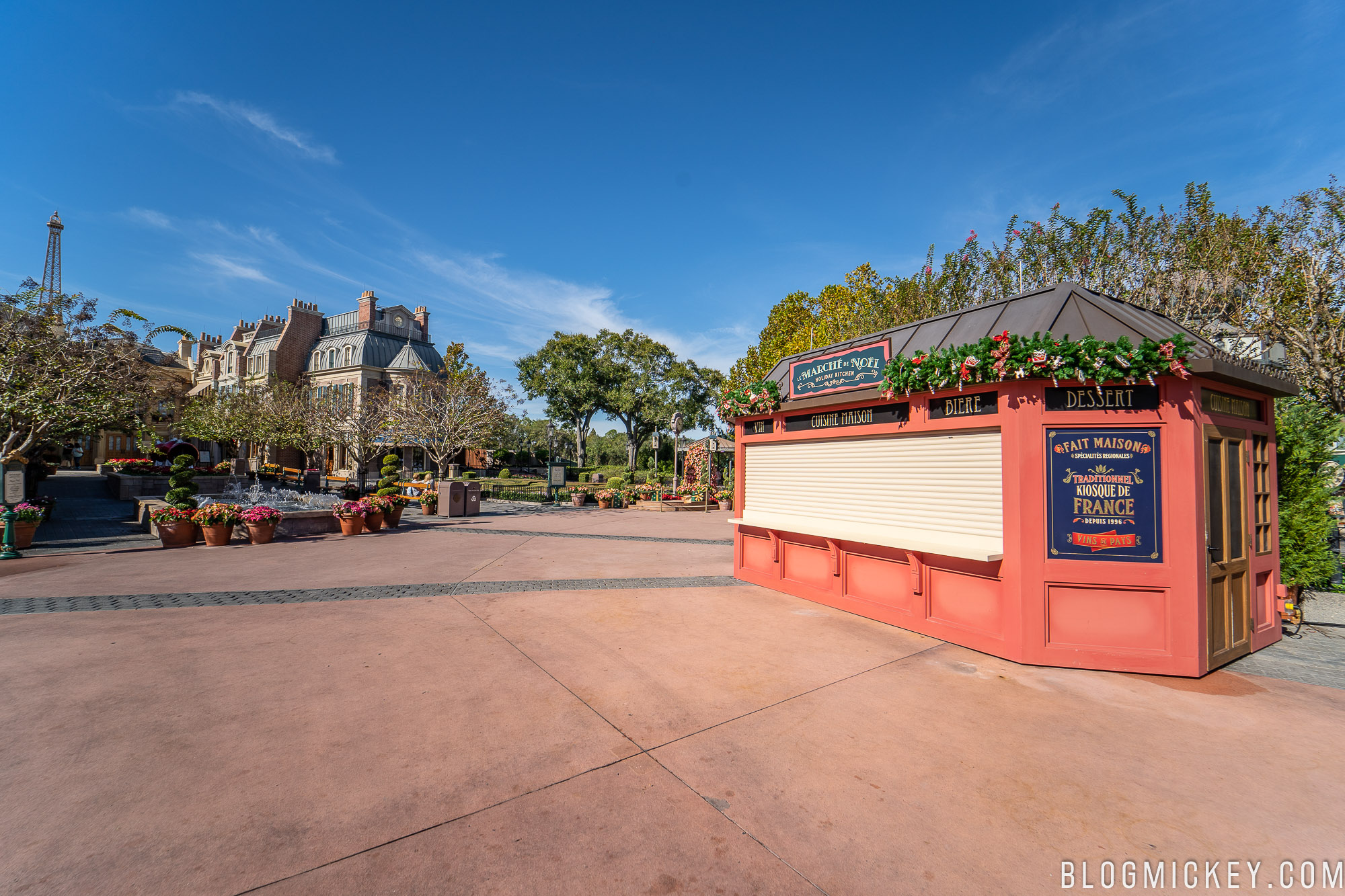 Blog Image De Noel.Review Le Marche De Noel Holiday Kitchen Epcot