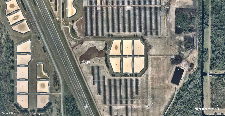Aerial Photos Show Massive Solar Farm Installation At Walt