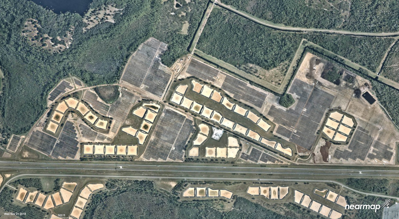 Aerial Photos Show Massive Solar Farm Installation At Walt Disney