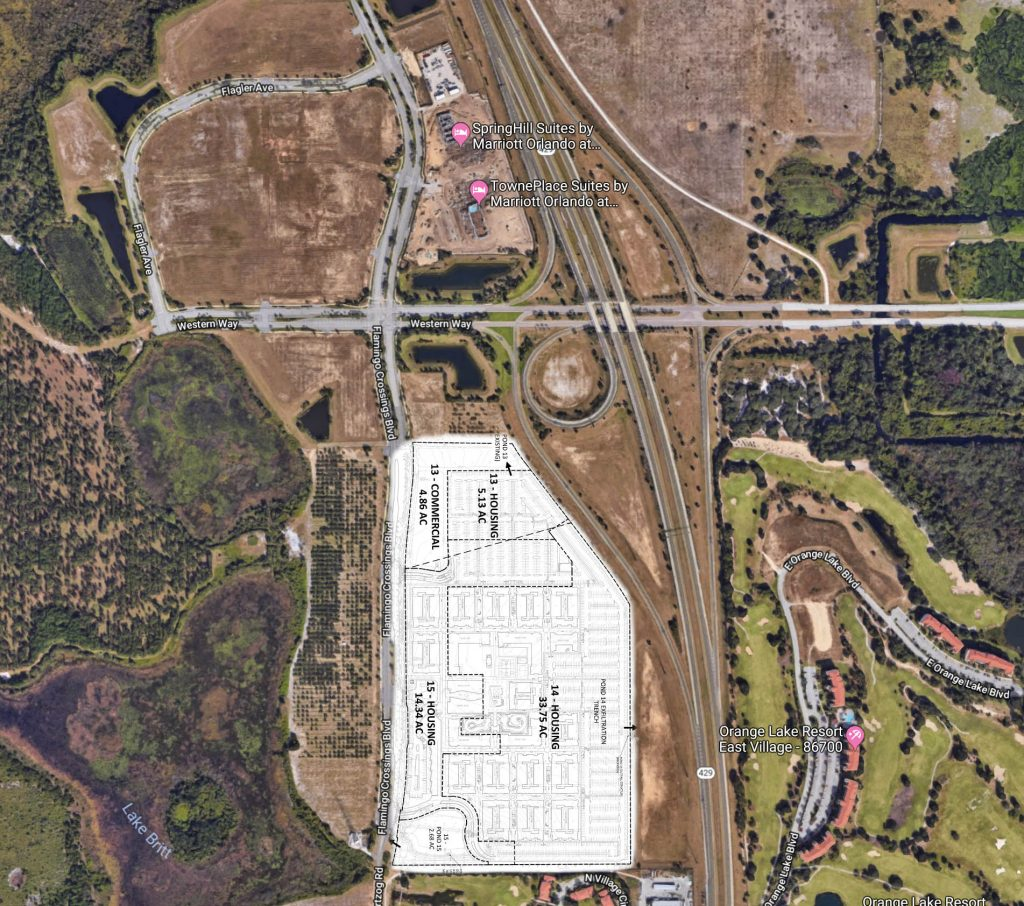 Apartments Near Disney World: Permits Filed For Even More Flamingo Crossings Multi