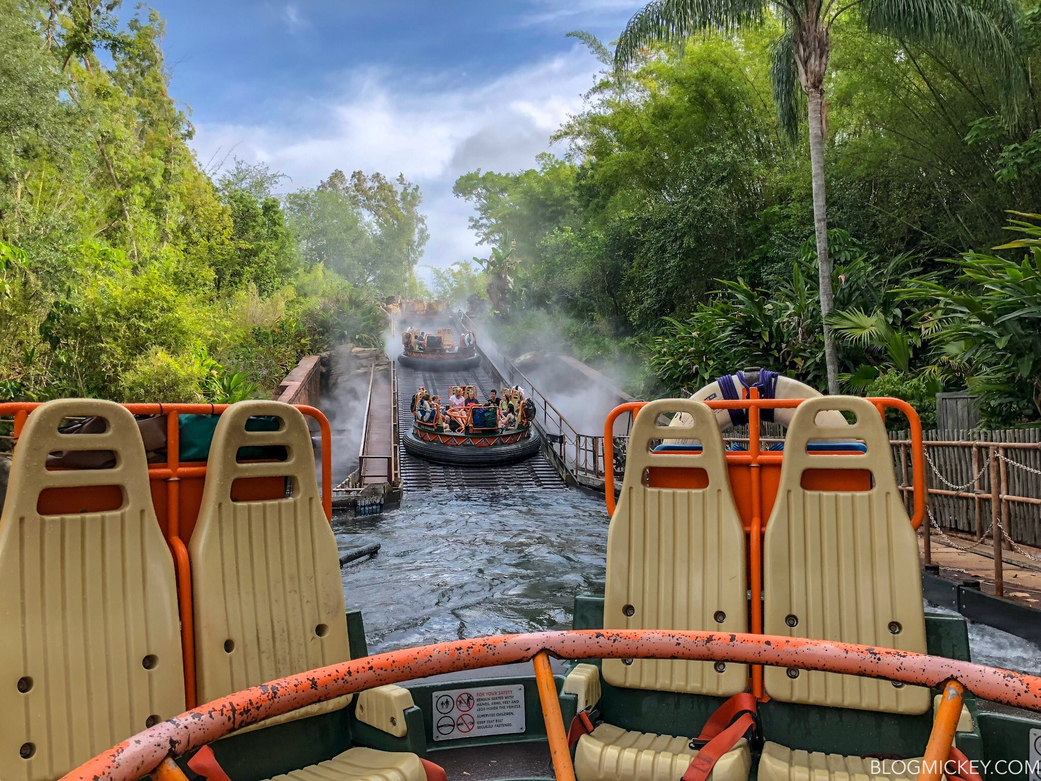 Kali River Rapids ride at Disney's Animal Kingdom