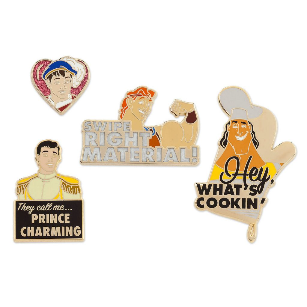 Disney Pin DS Store *Oh My Disney* Prince Set 2 They Call Me..Prince Charming!