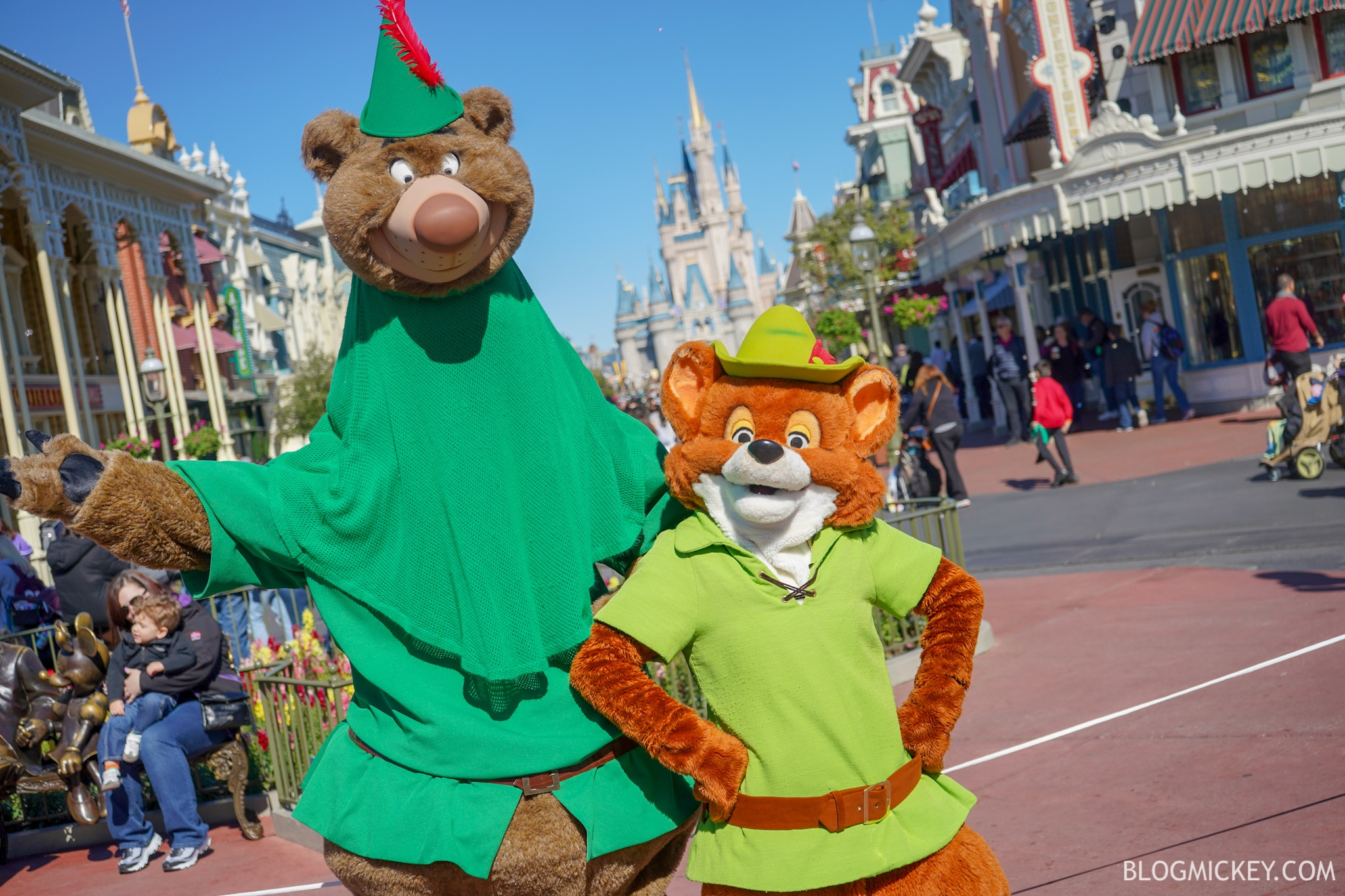 PHOTOS: Robin Hood Meet and Greet for Mickey and Minnie's Surprise