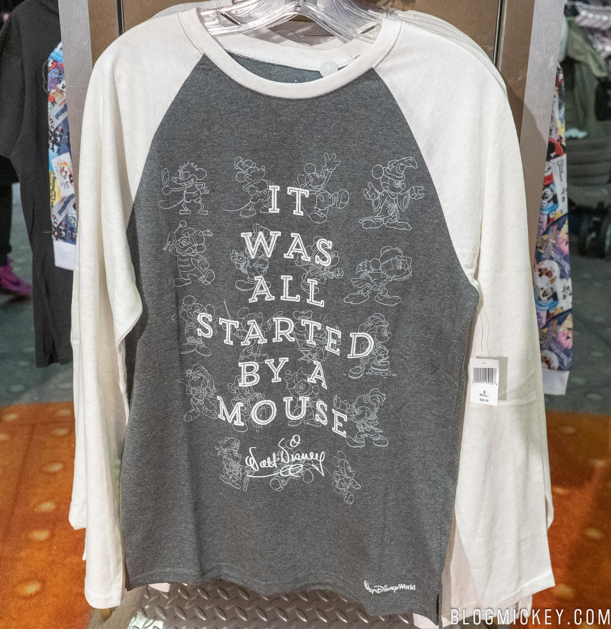 ed451a15 It Was All Started By A Mouse' Merchandise Line Arrives at Walt ...