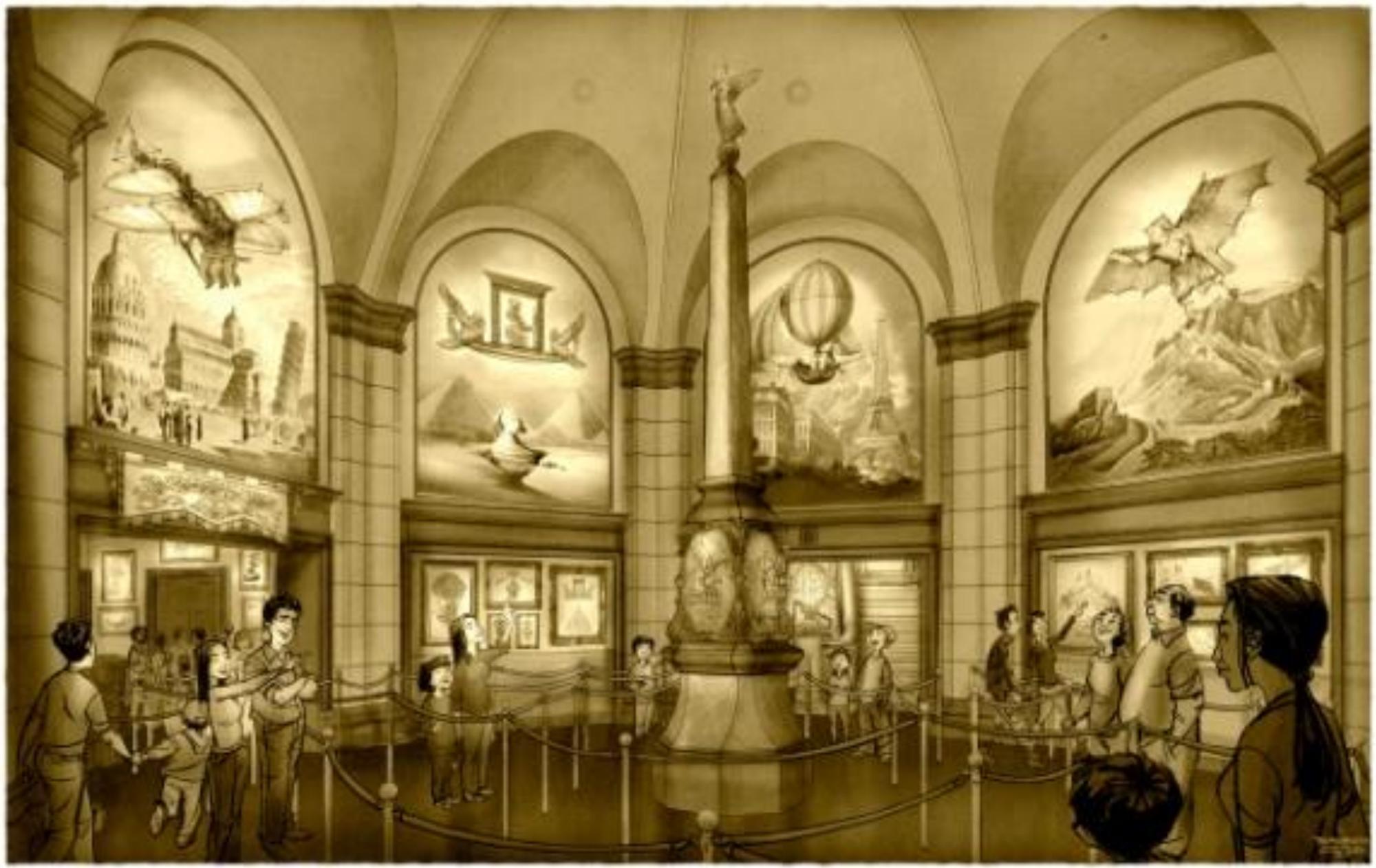 soaring-fantasic-flight-museum-concept-art - Blog Mickey