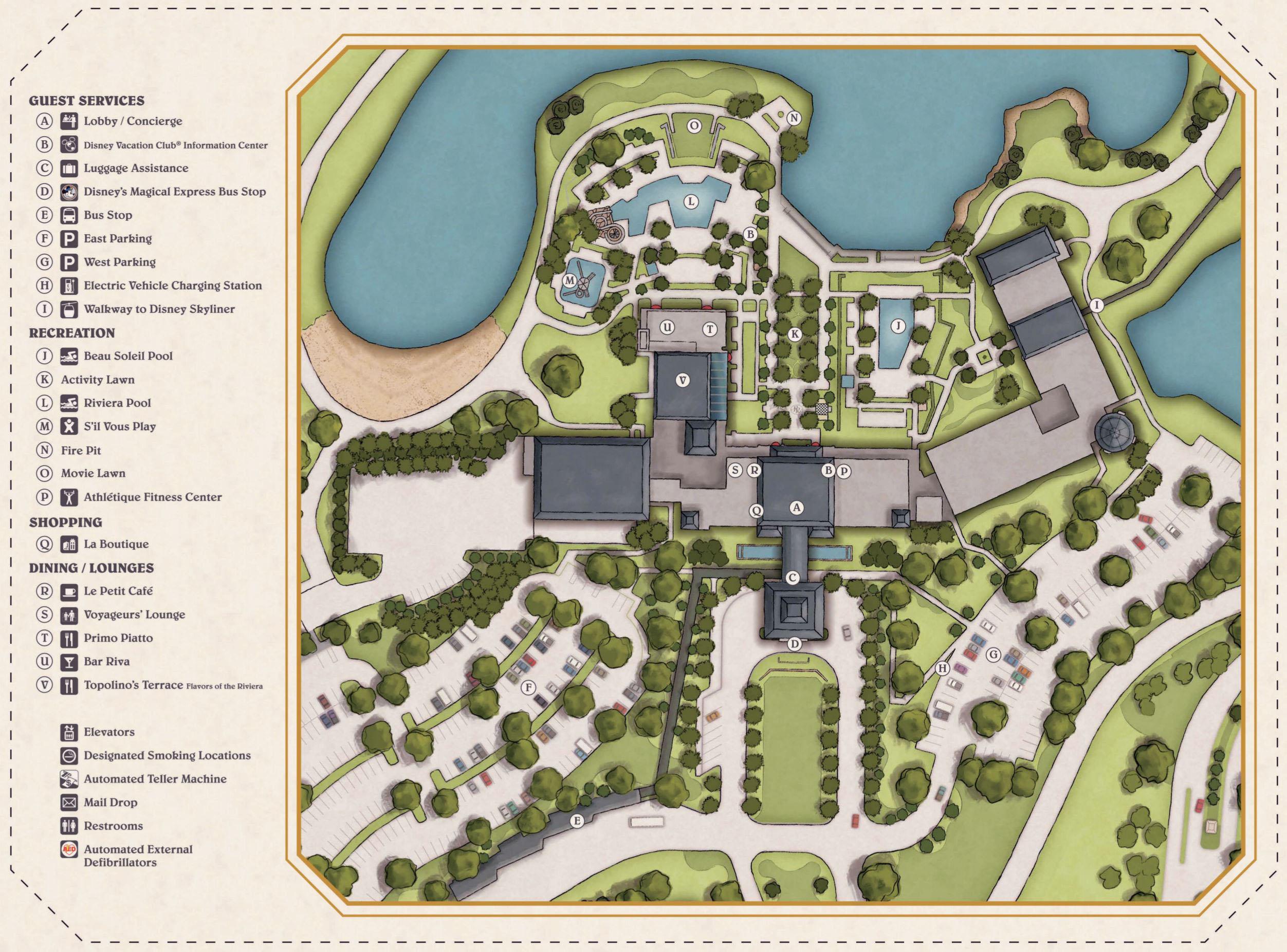 disney-riviera-resort-map - Blog Mickey on
