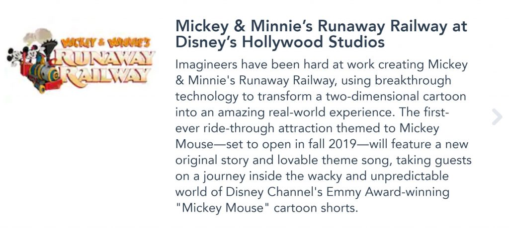 RUMOR: Mickey and Minnie's Runaway Railway Opening Date Pushed to
